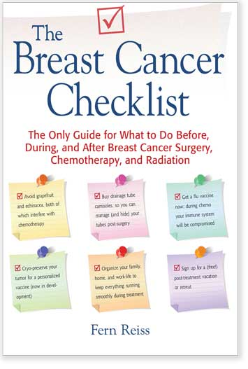 Cover of The Breast Cancer Checklist book